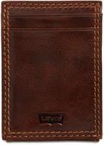 Levi's Men's Rfid Front-Pocket Leather Wallet
