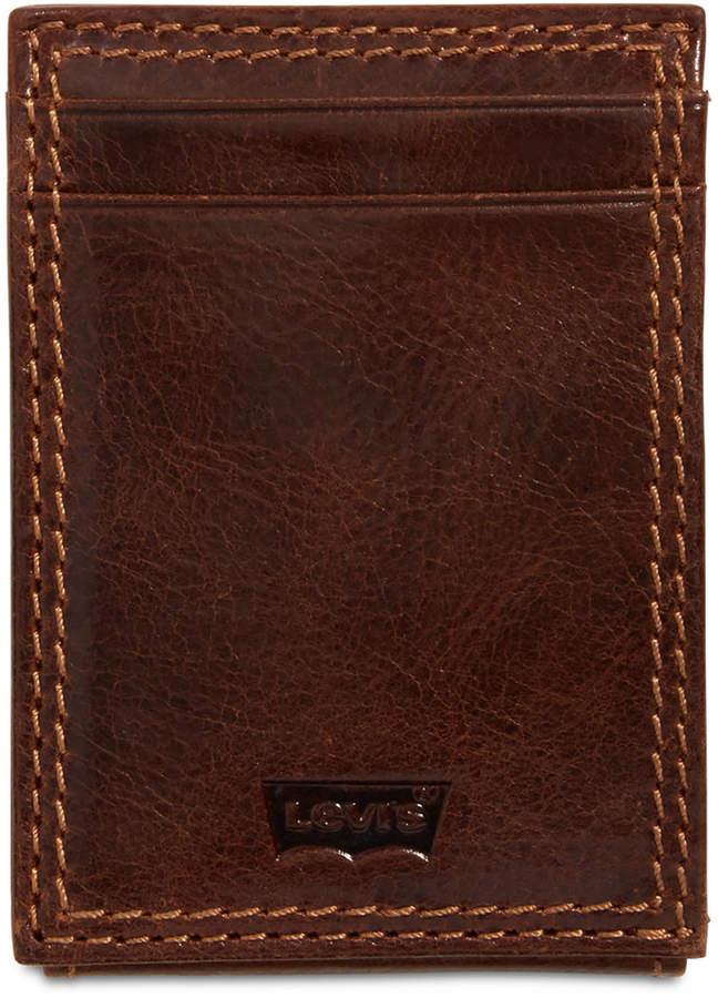 f255c36a5d Mens Front Pocket Leather Wallet - ShopStyle