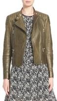 Belstaff Women's 'Sidney' Leather Moto Jacket
