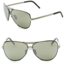 Porsche Design P'8678 67MM Interchangeable Aviator Sunglasses
