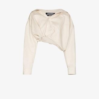 Jacquemus Mejean cropped shirt