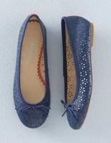Boden Leather Ballet Flats