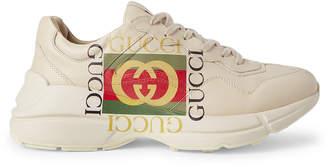 Gucci Men's Logo Print Low-Top Sneakers