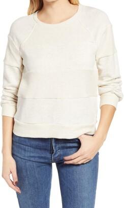 Everleigh Tonal Stripe French Terry Sweatshirt