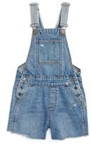DL1961 Toddler Girl's Short Overalls