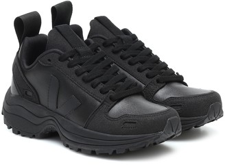 Rick Owens x Veja faux leather sneakers