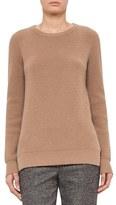 Akris Punto Rib Knit Wool & Cashmere Sweater