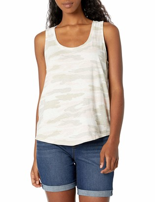 Lucky Brand Women's Sleeveless Scoop Neck Tank Top