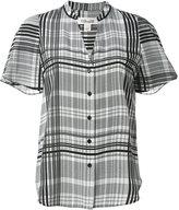 Diane von Furstenberg Darb shortsleeved shirt - women - Silk - 6
