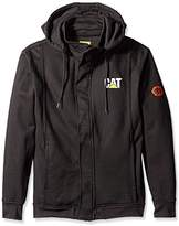 Caterpillar Flame Resistant 14.5 Oz Full Zip Sweatshirt With Removeable Hood