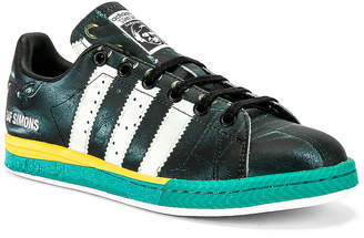 Adidas By Raf Simons Samba Stan Sneaker in Black & White | FWRD