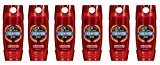 Old Spice Red Zone Champion Scent Men's Body Wash 16 oz (Pack of 6)