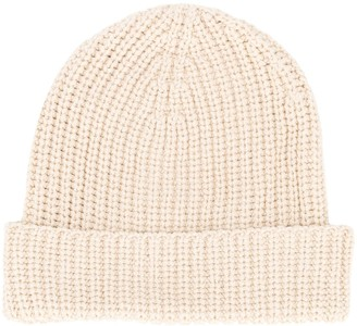 Universal Works Knitted Ribbed Beanie