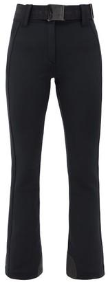 Goldbergh Pippa Belted Slim-fit Soft-shell Ski Trousers - Black