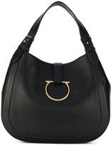 Salvatore Ferragamo Perrine Gancio Bracelet Hobo Bag - women - Calf Leather - One Size