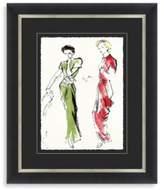 STUDY Fashion Framed Art 1