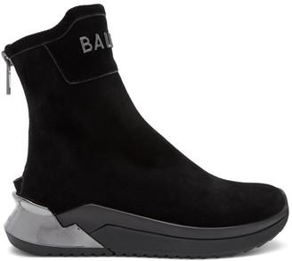 Balmain Black B-Glove Sneakers