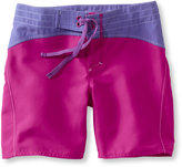 L.L. Bean Girls Sun-and-Surf Shorts