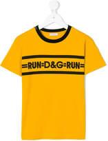 Dolce & Gabbana run print T-shirt