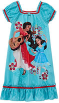 Disney Collection Elena Short-Sleeve Nightshirt - Girls 2-10