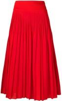 Givenchy high-waisted pleated skirt