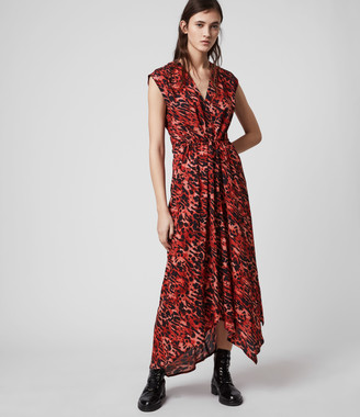 AllSaints Tate Ambient Dress
