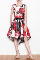 Katherine Barclay Floral Swing Dress