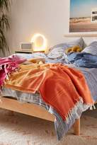 Urban Outfitters Pieced Stripe Throw Blanket