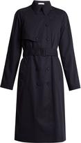 Tomas Maier Wool-gabardine trench coat