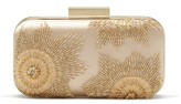 Vince Camuto Cindy Embellished Minaudiere - Metallic