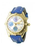 Chronomat yellow gold watch