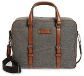 Ted Baker Men's Digger Wool Briefcase - Grey