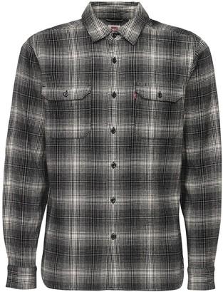 Levi's Tartan Cotton Plaid Shirt