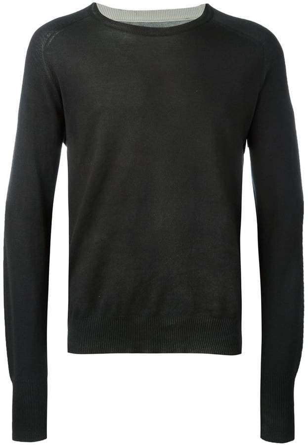 Maison Margiela classic crew neck sweater