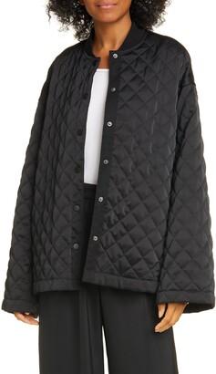 ATM Anthony Thomas Melillo Oversized Quilted Jacket