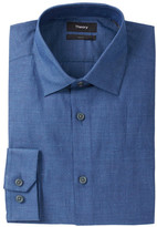 Theory Dover Solid Slim Fit Woven Shirt
