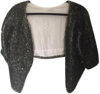 Dries Van Noten Grey Silk Jackets