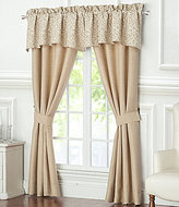 Waterford Charlize Gold Window Treatments