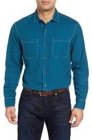 Tommy Bahama Men's Big & Tall Sea Glass Original Fit Flannel Shirt