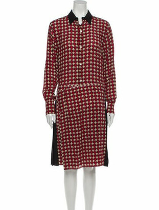 Marni 2019 Knee-Length Dress w/ Tags Red