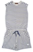 7 For All Mankind Girl's Striped Romper