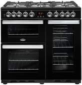 Belling Cookcentre Deluxe 90DFT Dual Fuel Range Cooker