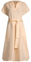 Thumbnail for your product : Harshman Leya Tie Linen Dress