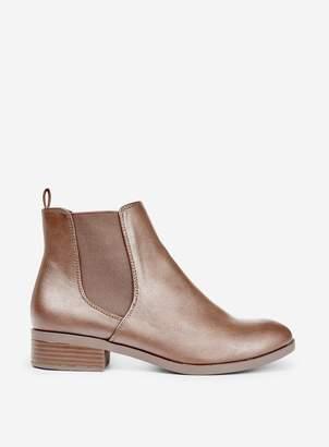 Dorothy Perkins Womens Tan 'Morgan' Chelsea Boots