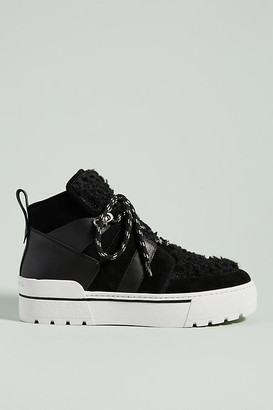J/Slides Nell High-Top Sneakers By in Black Size 7