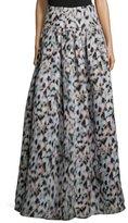 Sachin + Babi Noir Confetti-Print Ball Skirt