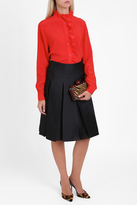 Paul & Joe Satin Midi Skirt