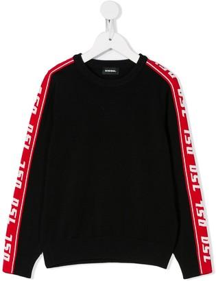 Diesel DSL Band Knit Pullover jumper