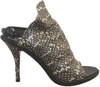 Balenciaga Black Water snake Boots