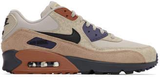 Nike Beige Air Max 90 Camowabb NRG Sneakers
